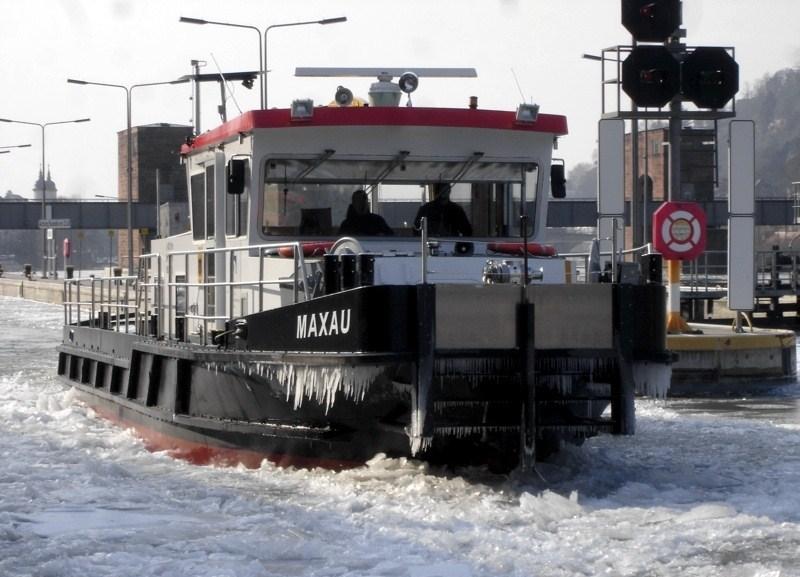 Eis auf dem Neckar