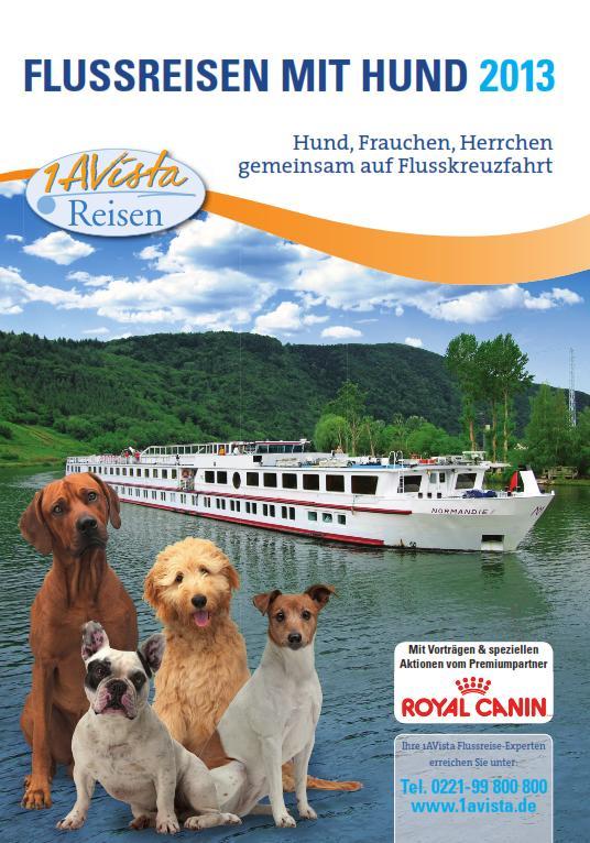 flusskreuzfahrten 2018 mit hund