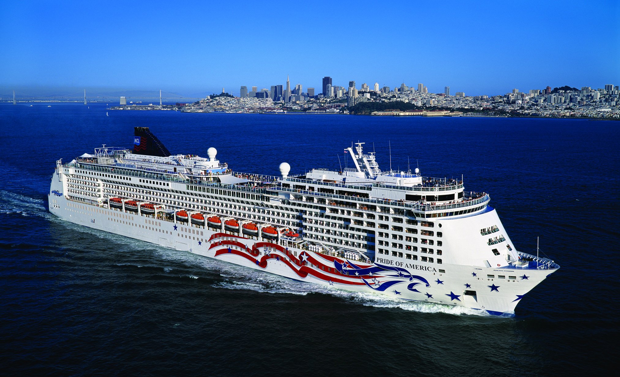 Ncl pride of america kommt ins trockendock for Best us cruise lines
