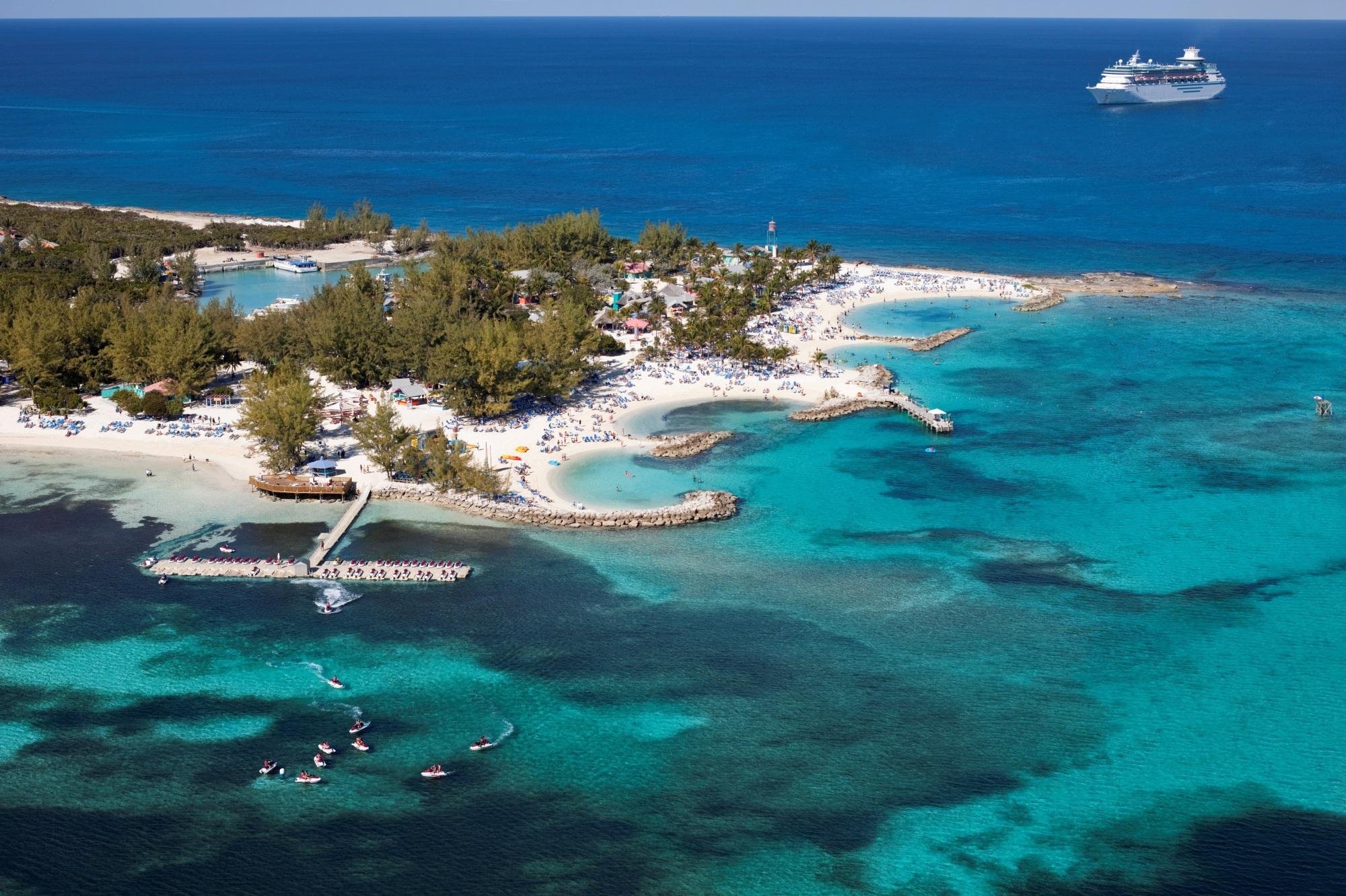 Royal Caribbeans Privatinsel Cococay Erh 228 Lt Goldene Umwelt