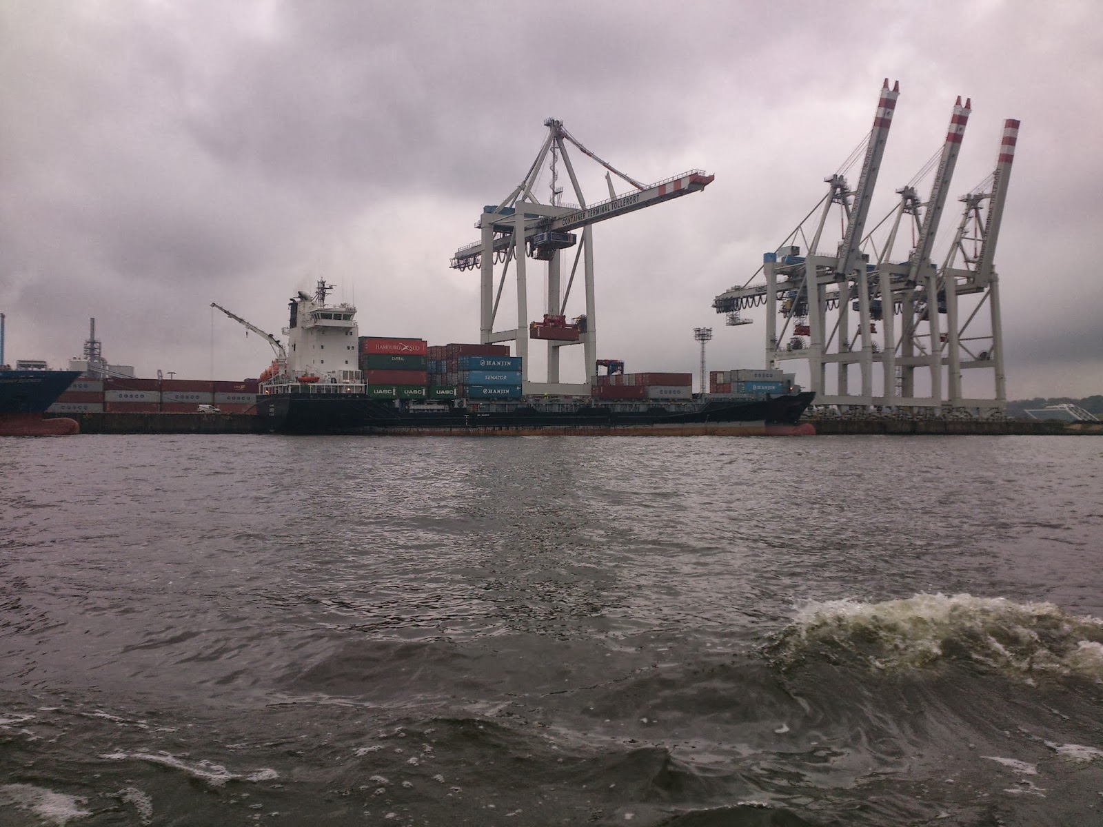 Mit dem Frachtschiff MS Ceres unterwegs auf der Ostsee