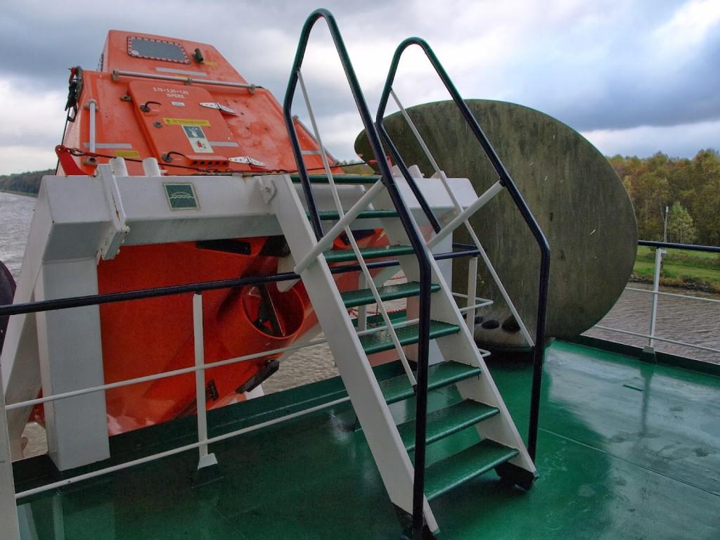 Muster Station - Rettungsboot