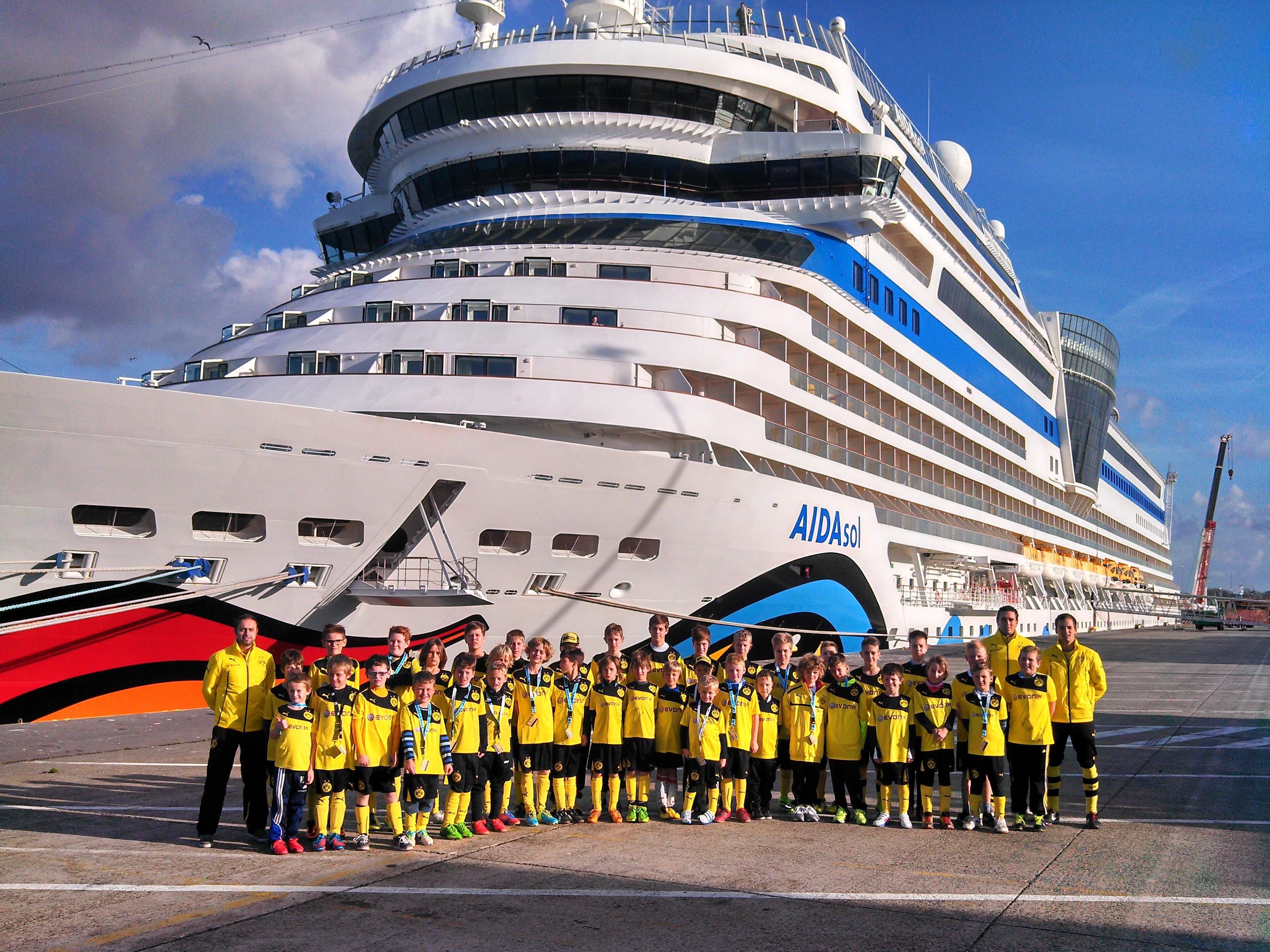 aida bvb soccer camp wird fortgesetzt  termine für 2014