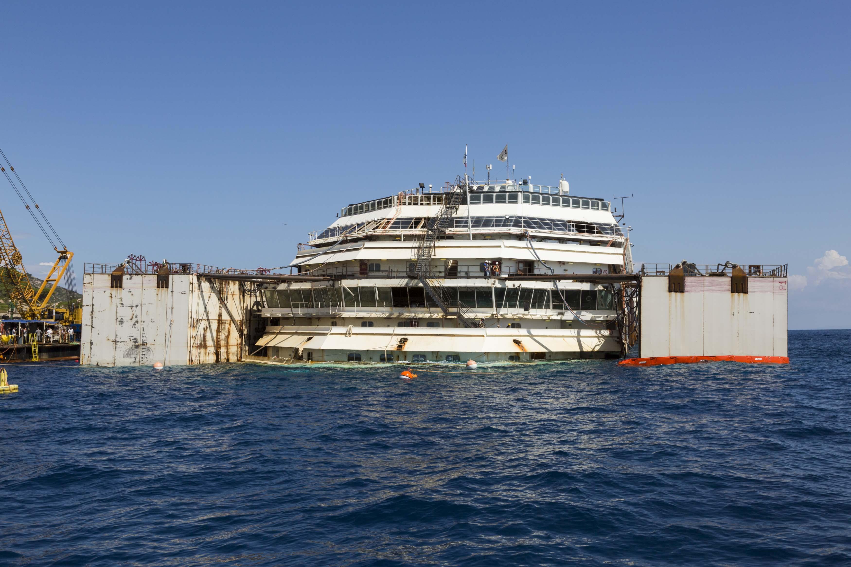 Costa Concordia Bergung