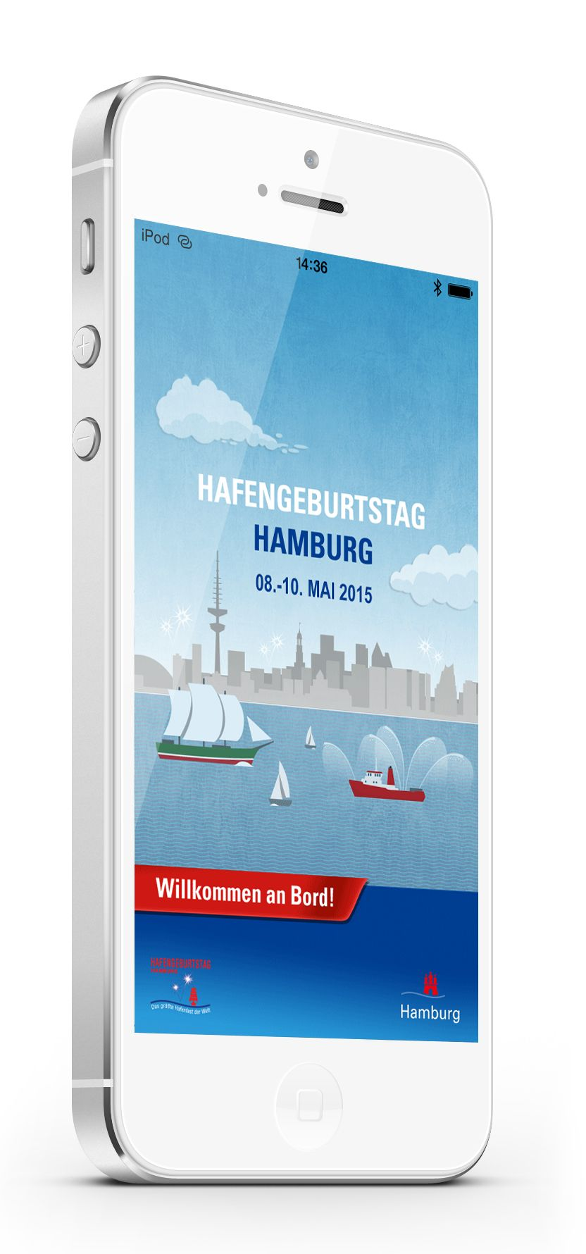 ab sofort verf gbar neue app zum 826 hafengeburtstag hamburg. Black Bedroom Furniture Sets. Home Design Ideas