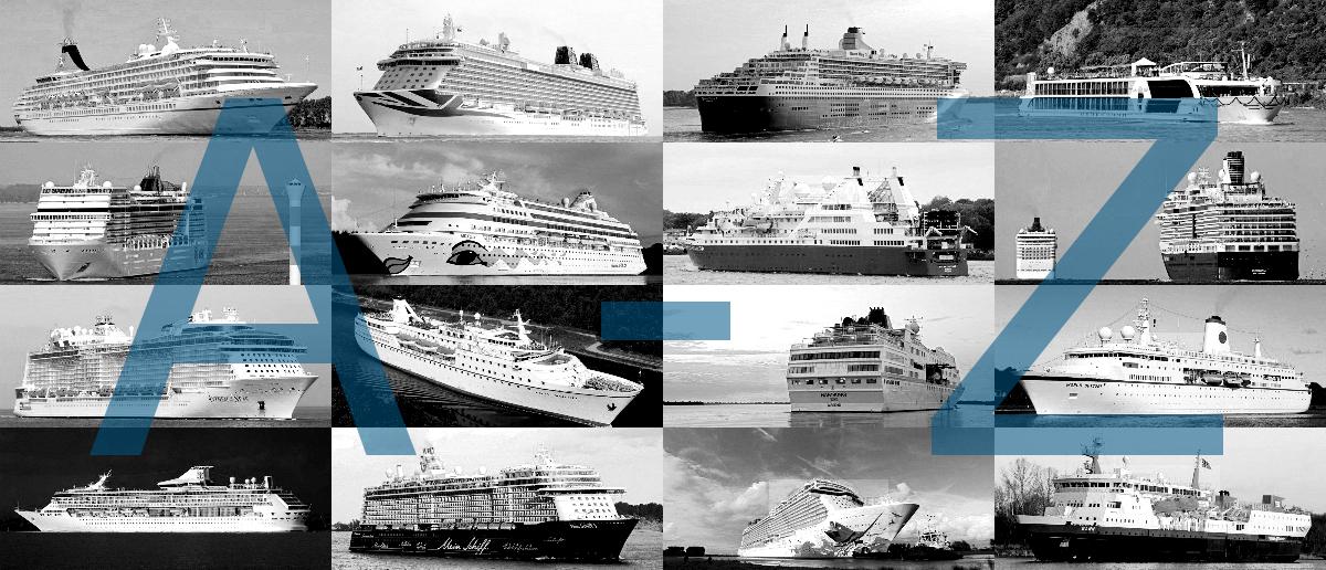 Kreuzfahrtschiffe von A bis Z