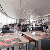 Mein Schiff 1 TUI Cruises Taufe in Hamburg-Fischrestaurant