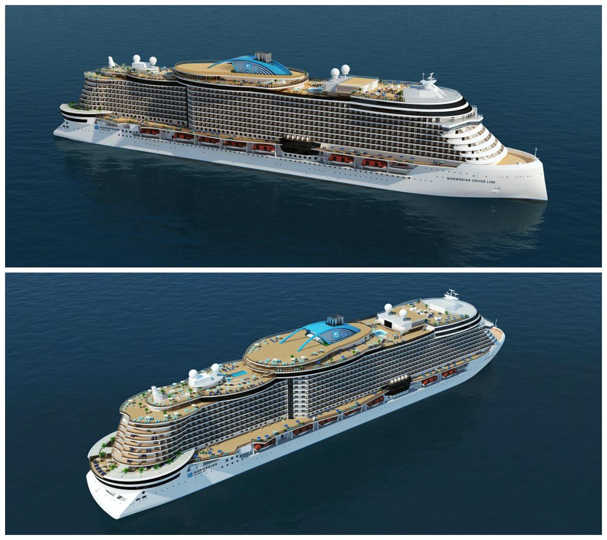 Grafiken: Norwegian Cruise Line